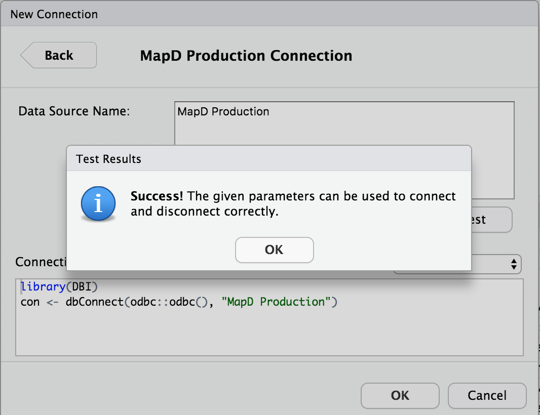 Creating a MapD ODBC Connection in RStudio Server | R-bloggers