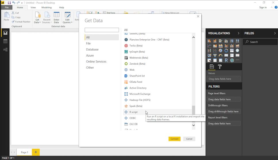 Using RSiteCatalyst With Microsoft PowerBI Desktop